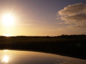 Sun over Rossnowlagh
