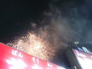 神宮の花火