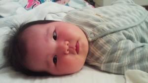 生後3ヶ月の娘