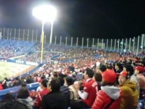 神宮球場カープ観戦