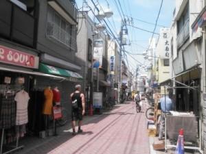 高円寺の通り