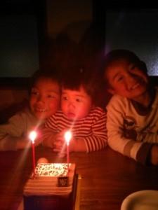 娘の誕生日会