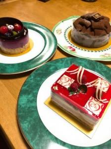 ヴィタメールのケーキ