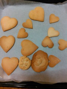 娘の手作りクッキー♪